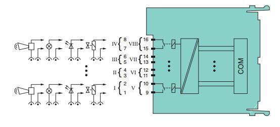 倍加福p f 继电器输出模块 lb6006a