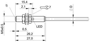 巴鲁夫BALLUFF 感应式传感器 BES 516-3006-G-E4-C-PU-02 产品视图