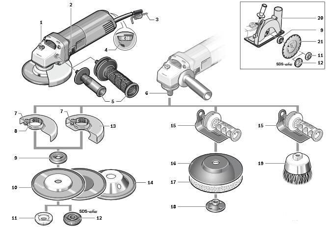 角磨机碳刷工作原理电路图