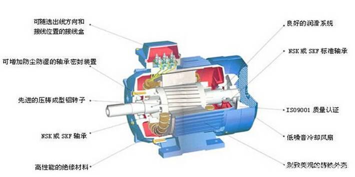 低噪音立式三相异步电动机