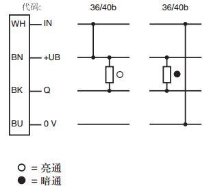 锝秉工控倍加福p f 光电式传感器 漫反射 glv12-8-200/36/40b/115