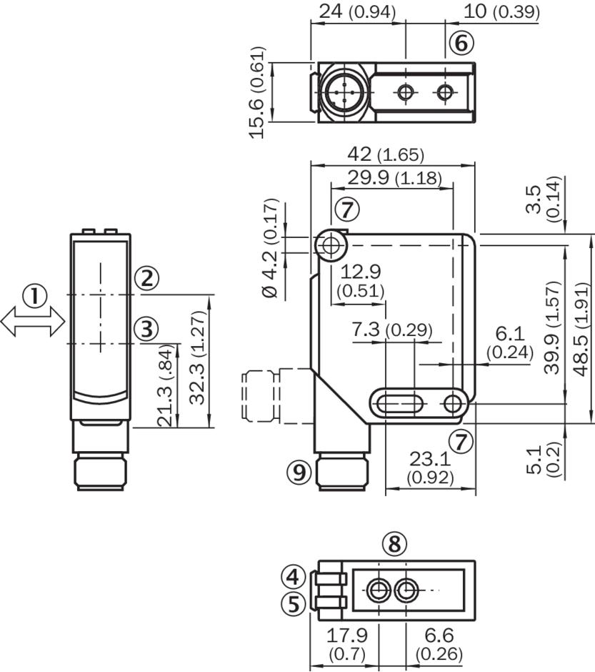 西克sick光电传感器wtb12-3p2433