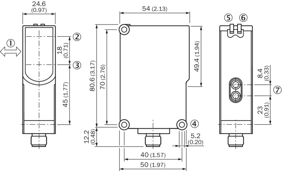 西克sick紧凑型光电传感器wtb27-3p2413